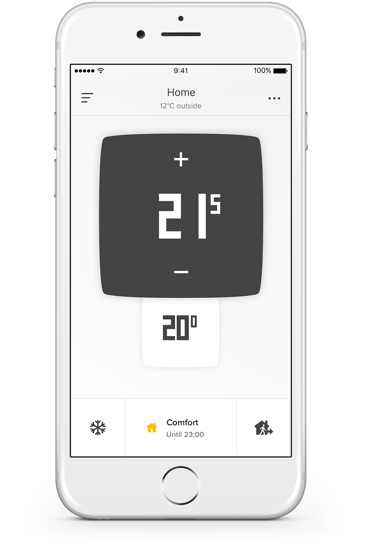 Application of Netatmo Thermostat