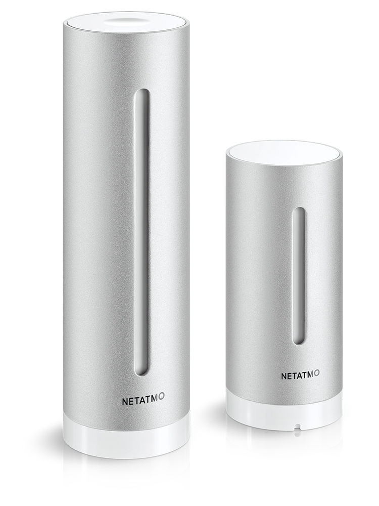 Look for Netatmo Weather station